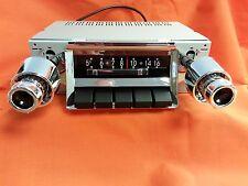 1957 Chevy AM-FM Slide Bar Radio Replacement Factory Fit Belair Sedan Hardtop