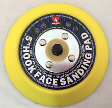 Velcro® backed 5in. sanding polishing pad with 5/16-24 TPA for DA sander