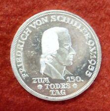 5 Dm Gedenkmünze Friedrich Von Schiller Günstig Kaufen Ebay