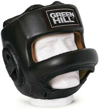 Green Hill Head Guard 'Fort' MMA/Boxing Size Medium - *Free jump rope included*