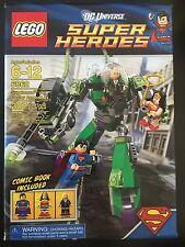 LEGO SUPER HEROES DC UNIVERSE 6862 Superman vs Power Armor Lex NISB