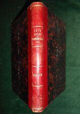 § FLAMMER & FICK, Lois civiles et commerciales du canton de Genève (1859) §