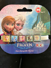 Disney Frozen Roxo Intercambiables 5 pulsera con dijes Elsa Anna Olaf Sven M