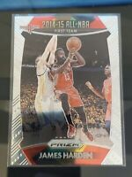 2015-16 JAMES HARDEN PANINI PRIZM All-NBA First Team New Jersey Nets