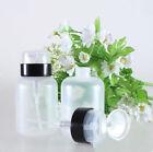 Nail Art Pump Dispenser Polish Remover Cleaner Empty Bottle Plastic 220ml