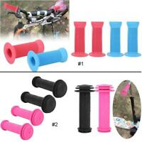 Children's Kids Bike Handle Grips Anti-slip Plastic Bicycle Handlebar Grips