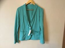 Soft Fabric Turquoise Jacket - New With Tags