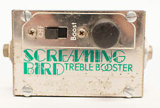 Electro-Harmonix Screaming Bird Treble Booster Guitar Effect Pedal USA - Vintage