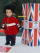 """14"""" Buckingham Palace Guardsman Porcelain Doll Ideal London Souvenir Bnew"""