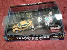 Rare sealed TRANSFORMERS Prime nycc COMIC CON 2011 Bumblebee ARCEE First ed gift
