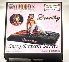 JJ302 DOROTHY, JJ Models Italy, 100mm Metal and Resin Female Figurine, Brand NEW