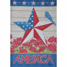 """America Lg Porch Flag 28"""" X 40"""" Seasonal 26-2863-50 Spring Flip It! Rain Shine"""