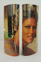 70er Vintage Magazin Handtasche Cover Clutch Bag Italy Tasche Retro ELLE 1/2 60s