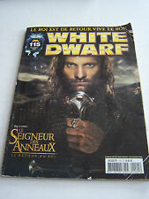 MAGAZINE WHITE DWARF , JEUX GAMES WORKSHOP ET FIGURINES N° 115 . BON ETAT .