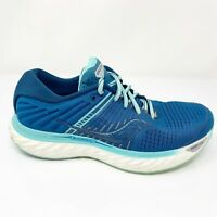 Saucony Womens Triumph 17 S10546-25 Blue Running Shoes Lace Up Low Top Size 9