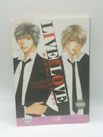 Live For Love by Jun Mayama / NEW Yaoi manga from June