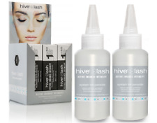 Hive Of Beauty Long Last Eyelash Eyebrow Tint Black 20ml x 12 & 2 Free Peroxide