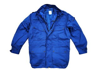 Dutch Army Winter Parka Royal Blue with Wet and Cold Weather Liners