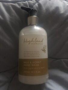 Scottish Fine Soaps AU LAIT MILK & HONEY Cream Hand Wash 300ml