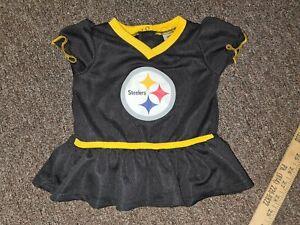black//yellow Pittsburgh Steelers 3-6 Months NFL Pittsburgh Steelers Team Sleep And Play Footies