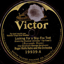 ROGER WOLFE KAHN & ORCH. Locking for a Boy / INTERNAT. NOVELTY ORCH. 78rpm S8499