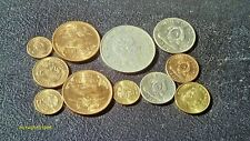 Lot Of 11 High Grade Mexico & Honduras Coins Most Are Unc. Check My Other Lots
