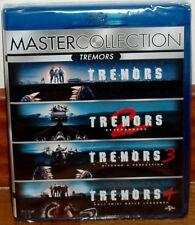 COLECCION TEMBLORES I-IV TREMORS 4 BLU-RAY NUEVO PRECINTADO ESPAÑOL (SIN ABRIR)