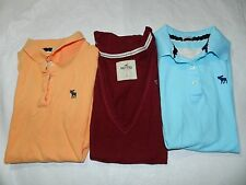 WOMENS YOUTH JUNIOR LOT OF 3 SHIRTS = ABERCROMBIE & HOLLISTER = SIZE XS & S wwss