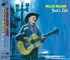 WILLIE NELSON-THAT'S LIFE-JAPAN CD +Tracking number