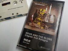 Doug And The Slugs CASSETTE Cognac and Bologna 1980 TESTED Good Chinatown Calc