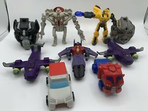 McDonalds Happy Meal Transformers Toys Lot of 9