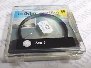 Genuine Cokin France 55mm Star 8 Special Effect Lens Filter  Star8 Cokinlight