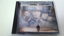 "ORIGINAL SOUNDTRACK ""SAVING PRIVATE RYAN"" CD 10 TRACKS JOHN WILLIAMS BSO OST"