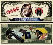 ESPION / AGENT SECRET - BILLET MILLION DOLLAR US! Collection Aventure Espionnage