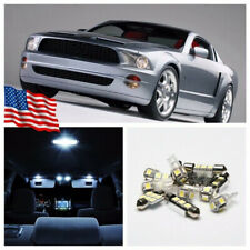 6Pcs Car LED Interior Light Package Fit 99-04 Ford Mustang Map Dome License Lamp