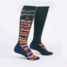 Booked for the Weekend Sock It To Me Women Knee High Socks New Novelty Fashion