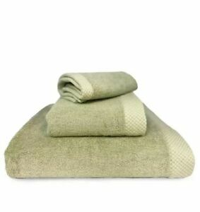 BedVoyage Rayon From Bamboo 3-piece Luxury Towel-Lite Green T4101790