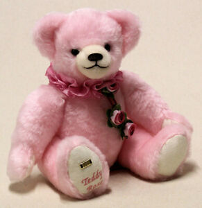 Hermann Spielwaren 'Teddy Rose' limited edition pink bear -11890-7