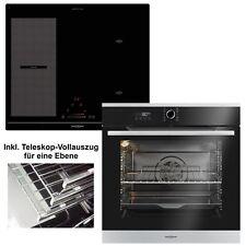 ᐅ ORANIER Set Einbaubackofen EBP 9881 12 + Induktionskochfeld KXI 2062 autark