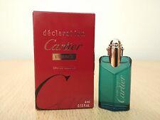 Cartier Declaration Essence for men 4ml EDT MINI MINIATURE PERFUME New