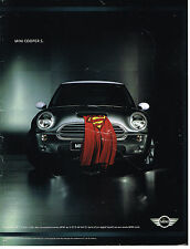 PUBLICITE ADVERTISING 104  2002  MINI COOPER S  ( att couverture qq griffes)