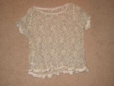 Ladies Loft Ivory Lace Top (L)