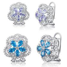 Pear Heat & Pressure Sapphire Fine Earrings