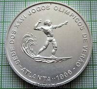 St.THOMAS & PRINCE SAO TOME & PRINCIPE 1996 1000 DOBRAS ATLANTA OLYMPICS, SURFER