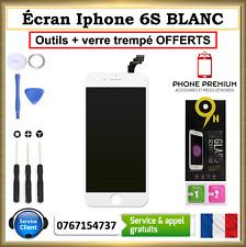 ECRAN LCD PREMIUM VITRE TACTILE IPHONE 6S BLANC SUR CHASSIS OUTILS VERRE OFFERTS