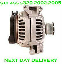 MERCEDES BENZ S-CLASS S320 CDI SALOON 2002 2003 2004 2005 RMFD ALTERNATOR