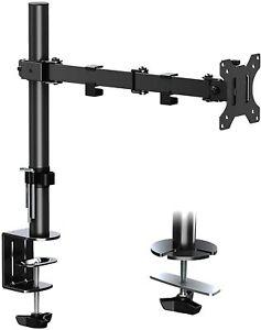 ELIVED Single Monitor Arm Desk Mount Height Adjustable Ergonomic PC Monitor