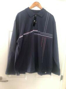 NEW! SALE! PEGASUS POLO SHIRT Long Sleeve Men's size L 44/46