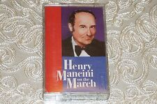 Henry Mancini on the March by Henry Mancini (1995) Cassette RARE OOP
