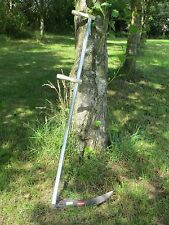Alpine Turk Grass Meadow Scythe Steel Snaith Shaft 1.5m Long & 45cm Blade